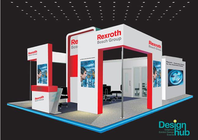 Exhibition Stall Installation : Design hub